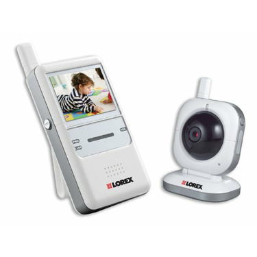 Lorex LW2001 Digital Wireless Portable Color LCD Surveillance System (White)