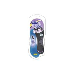 Dr. Scholl's For Her Open Shoe Insoles with Massaging Gel