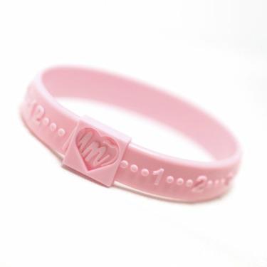 Mother's Minder Bracelet, Pink
