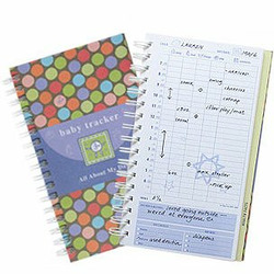 Baby Tracker Childcare Journal - Time Dots