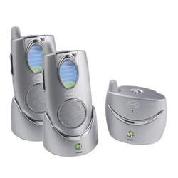 Summer Infant Secure Sounds 2.4 GHz Digital Audio Monitor with 2 Parent Receivers - Silver