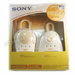 Sony NTM-910 900 MHz BabyCall Sound-Sensor Nursery Monitor (Baby Call)