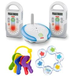 Fisher-Price Talk To Baby Digital Monitor with dual receivers Baby Bundle
