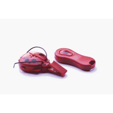 Giggle Bug Toddler Tracker Child Locator - Red