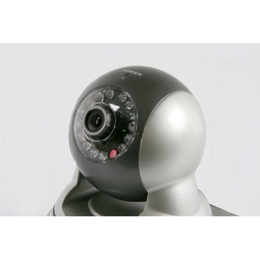 Astak Pan & Tilt Wired IP Network Camera Monitoring System with Night Vision, Motion Sensor, and Built-in-Audio