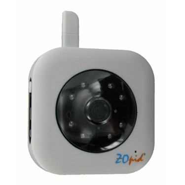 ZOpid Additional Digital Wireless Camera for HS-MS240D Baby Monitor, White