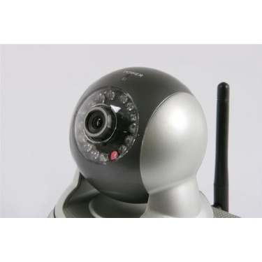 Astak Pan & Tilt Wireless IP Network Camera Monitoring System with Night Vision, Motion Sensor, and Built-in-Audio