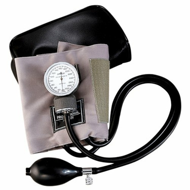 Omron Blood Pressure Monitor with Child Size Cotton Cuff - Gray