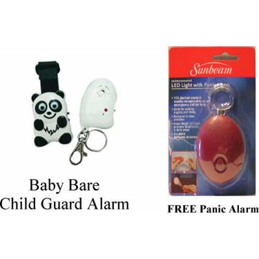 Baby Bear Child Guard Electronic Alarm with Free Bonus Panic Alarm