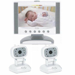 Summer Infant 02580 Color Flat Screen Video Baby Monitor with Extra Camera