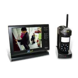 "ZOpid 5.6"" Color LCD 2.4GHZ Wireless Monitoring System with Sound, Motion Sensor and Night Vision, Black"
