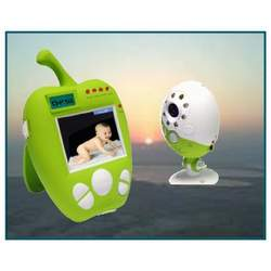 Safe Baby Green Apple Digital Monitor With Auto Scan