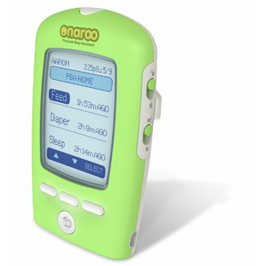 PBA Personal Baby Assistant Hand-held Infant Activity Tracker Electronic Device