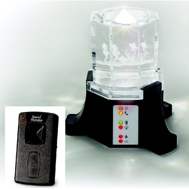 Baby Monitor with flashing light