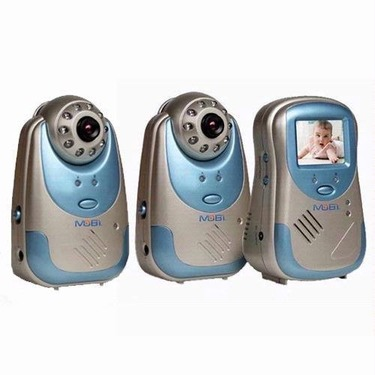 Mobi Mobicam Av Audio/video Baby Monitoring System with Extra Camera