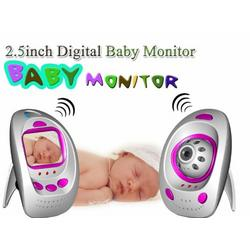 New Style 2.5 inch TFT LCD Screen 2.4Ghz Wireless Digital Baby Monitor with Two Way Talk + IR Night Night Vision