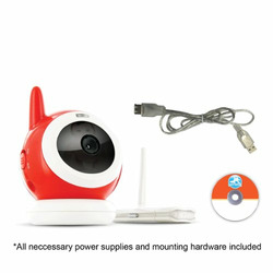 Digital Wireless Baby Camera w/ Online Monitoring and Email Alerts
