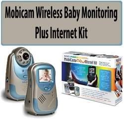 Mobicam 70060 Wireless Baby Monitoring Plus Internet Bundle
