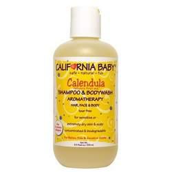 California Baby Calendula Shampoo & Bodywash 8.5 fl oz (255 ml)