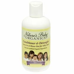 Nature's Baby Organics Conditioner & Detangler (Lavender/Chamomile)-8 oz.