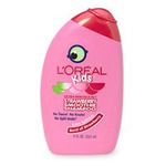 L'Oreal Paris Kids 2-in-1 Shampoo for Extra Softness, Strawberry Smoothie, 9-Fluid Ounce