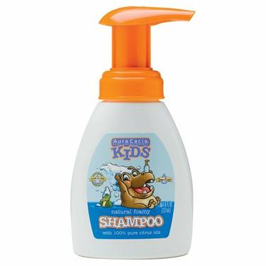 Aura Cacia Kids Foamy Shampoo, 8-Ounce Bottle (Pack of 3)