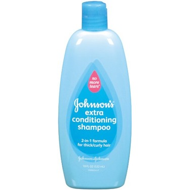 Johnson's Extra Conditioning Shampoo 2-in-1 Formula For Thick/Curly Hair