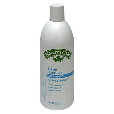 Nature's Gate Baby Soothing Shampoo for Fine, Delicate Hair, 18-Ounce Bottles (Pack of 4)