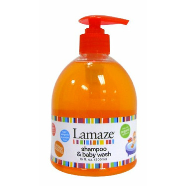 Lamaze Baby Shampoo & Body Wash, 16 ounce Pump (Pack of 2)