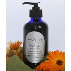 Nurture My Body Fragrance Free Organic Baby Shampoo SLS and Phthalate Free for Sensitive Skin
