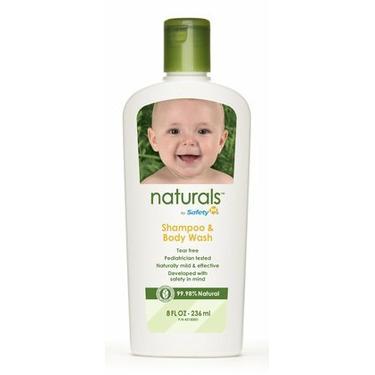Safety 1st Naturals Shampoo & Body Wash 8 oz (236 ml)