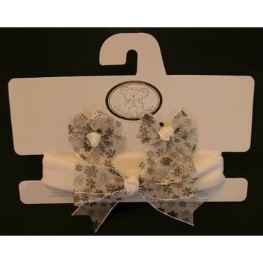 Baby Hair Accesories - Black & White