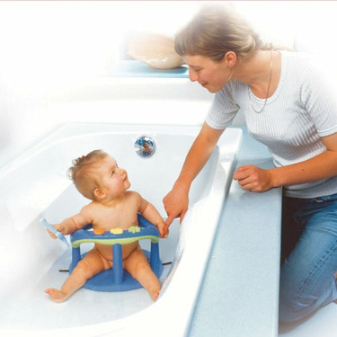 Juvenile Solutions Thermobaby Bath Ring - Blue with Green