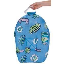 Leachco Safer Bather Infant Bath Pad, Blue Fish