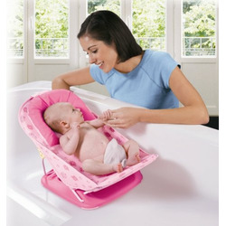 Summer Infant Mother's Touch Deluxe Baby Bather Pink