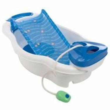 Summer Infant Newborn-Toddler Bath Center & Shower- Blue