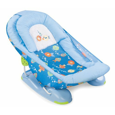 Summer Infant Mother's Touch Baby Bather, Bubble Fish, Large