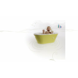 Hoppop Bato Bath Tub, Lime