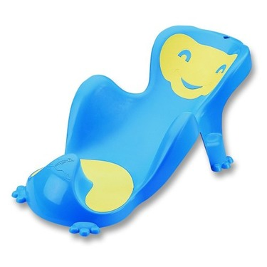 Baby Cocoon Bath Seat - Color: Blue and Light Green
