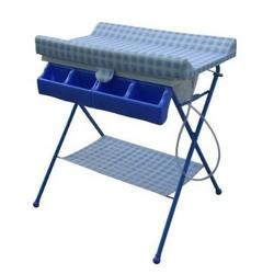 BabySpa Foldable Bathtub and Changer Combo in Blue