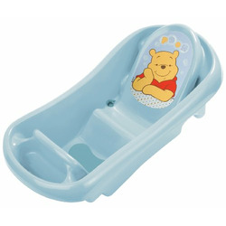 Disney Pooh Tub with Bath Sling and Bath Toys, Blue