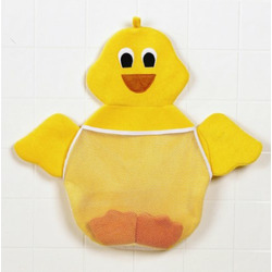 PRIMO Ducky Bath and Toy Bag (White bath with yellow cushion)