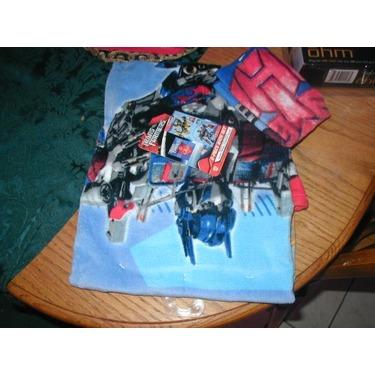 Transformers Kids Bath Towel and Washcloth Set
