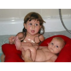 Batya Cushioned Infant Baby Bather (Pink)