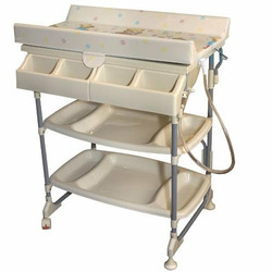 Sleek Baby Bath and Changing Table