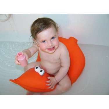 Shibaba Cushioned Baby Toddler Bath Seat