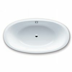 "Kaldewei Luxxo Duo Oval Bath Tub 74.80"" x 39.97"" x 17.72"" 232-WH"