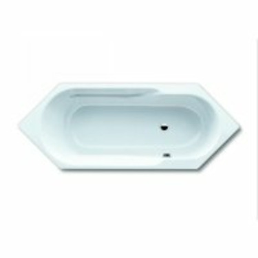 "Kaldewei Mondo 6 Bath Tub 77.56"" x 29.53"" x 17.32"" 706-BK"
