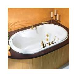 Pearl 100463-000 Ice Gray Ballade Bathtub - 100463-000