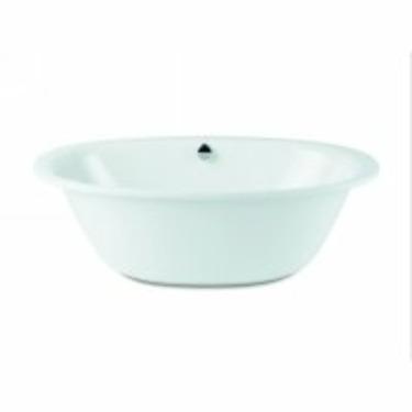 "Kaldewei Luxxo Duo Oval Bath Tub 74.80"" x 39.97"" x 17.72"" 232-7-BK"